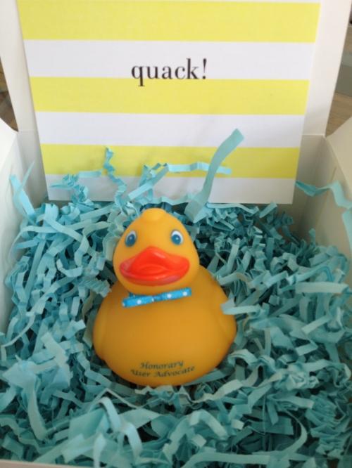 duck award