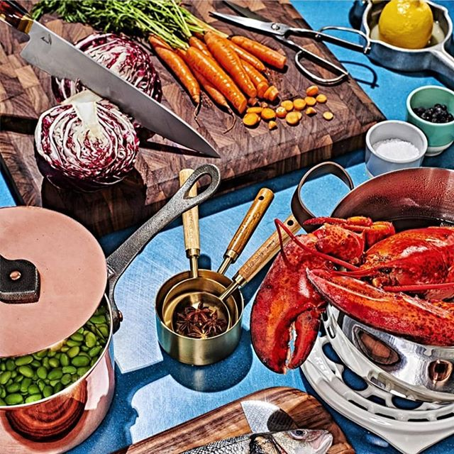 Shout out to @esquire for their flavorful November issue. Friendly reminder that our #preplegend contest is closing tomorrow.  #fineknives #finecooking #chefsofinstagram #chefstable #cheflife #truecooks #Auraknifeworks #AuraOne #chefknife #perfected #esquiremagazine