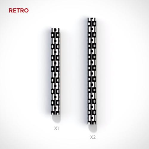 RETRO - EDC Ink size comparison