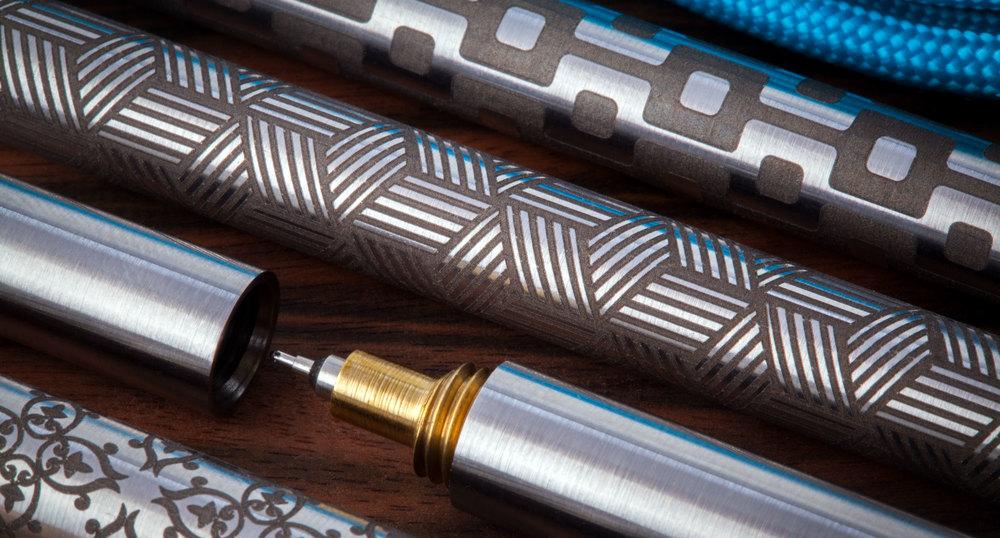 EDC Ink Laser Engraving Patterns