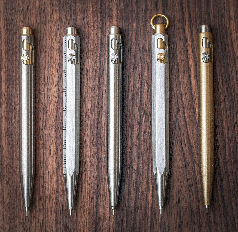 EDC Pocket Bolt Pens Group