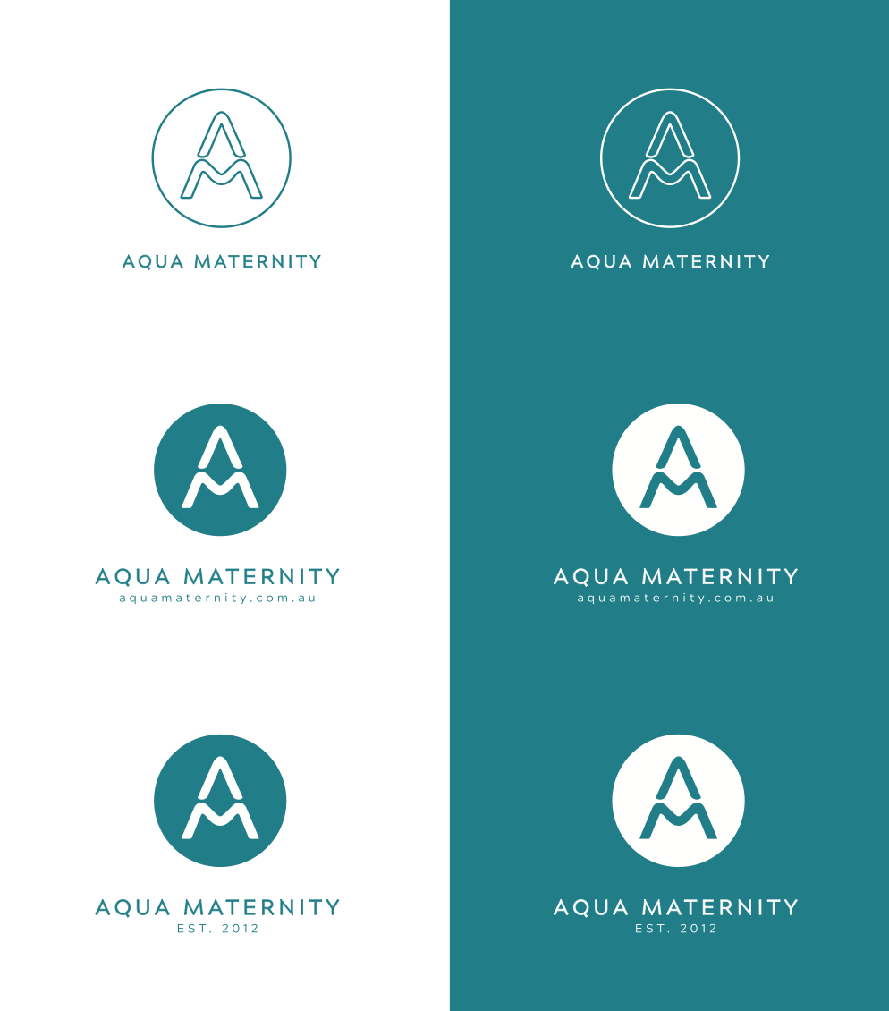 AQUA+MATERNITY+AMY+KATE+BRANDING