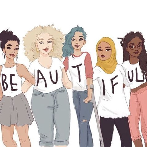 """""""If you are plus-sized or curvy, you are a beautiful, sexy, and powerful woman; embrace it and rock it. If you are petite or slender, you are a beautiful, sexy, and powerful woman; embrace it and rock it."""" - Mel Ferrier from @thelovehackers has a lot to say about #comparison. Blog link in bio!"""
