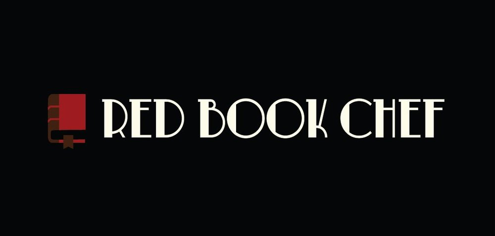 Red Book Chef Inverted Logo