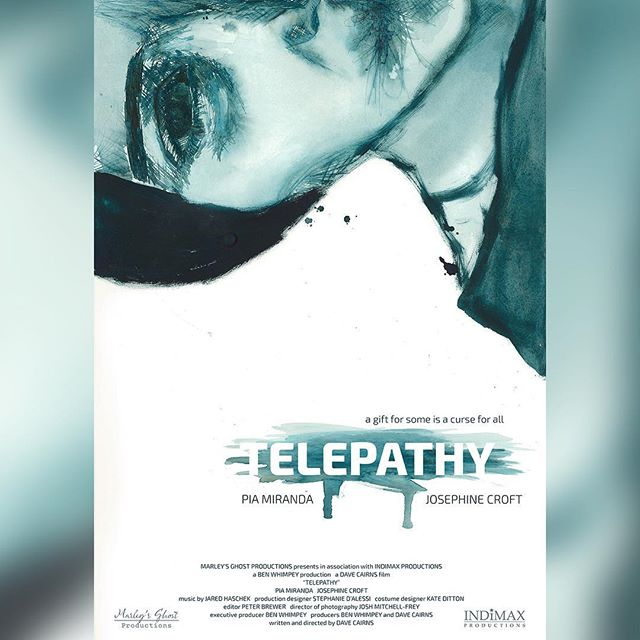 We are very excited to release the official poster for 'Telepathy' for all of you. We would especially like to thank @themarioncollective for all their hard work, not only on the film itself, but on the crazy-making process of bringing this poster to life. #telepathyfilm #filmposter #filmmakerslife @indimaxproductions