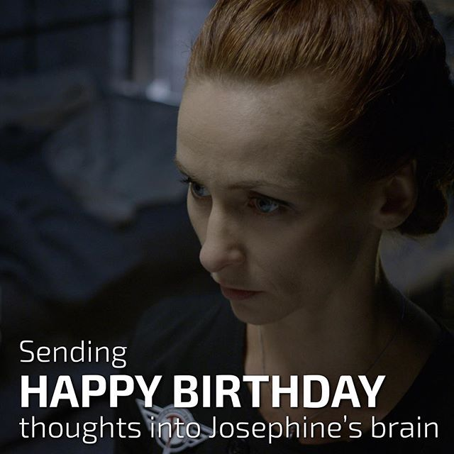 Happy birthday to Telepathy's rational voice of the majority, Ms. Josephine Croft. We hope you have a great day.