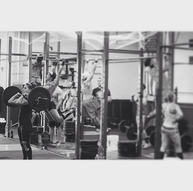 Morning: 8rds 15 push ups 15 sit ups 5 pull ups 10 dips 200m run  Evening:  3x3 overhead squat @80% 3x3 push press @80%