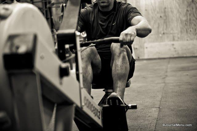 Rowed 10032 meters in 45 min today. longest I've ever rowed at once! My upper back is going to be sore all day!