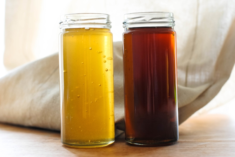 Apiary Made freshly bottled honey