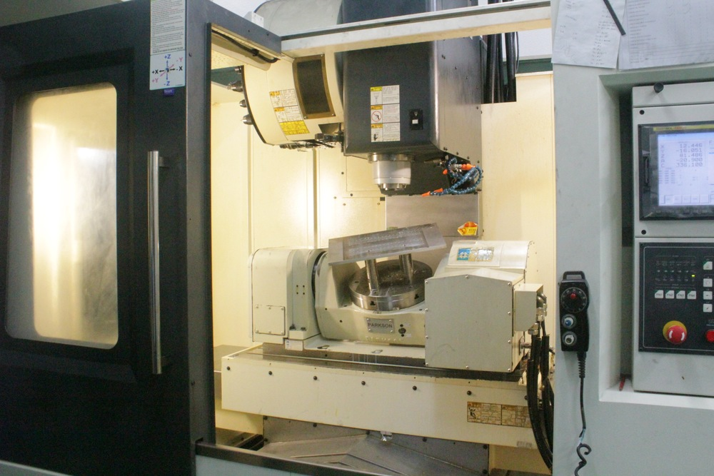 CNC 5-Axis Rotary Table