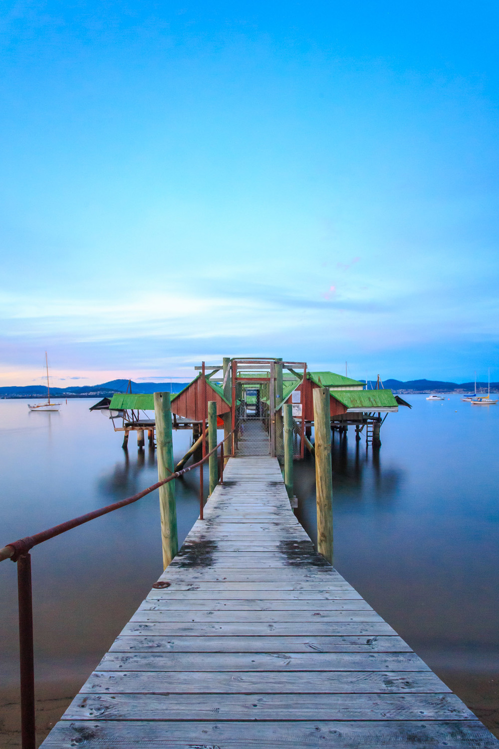 Sandy Bay Boatshed - 15sec @ f9.0 - ISO2000