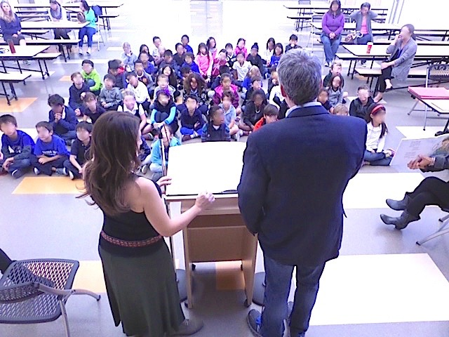 Authors visit Porter Ranch Community School 2015