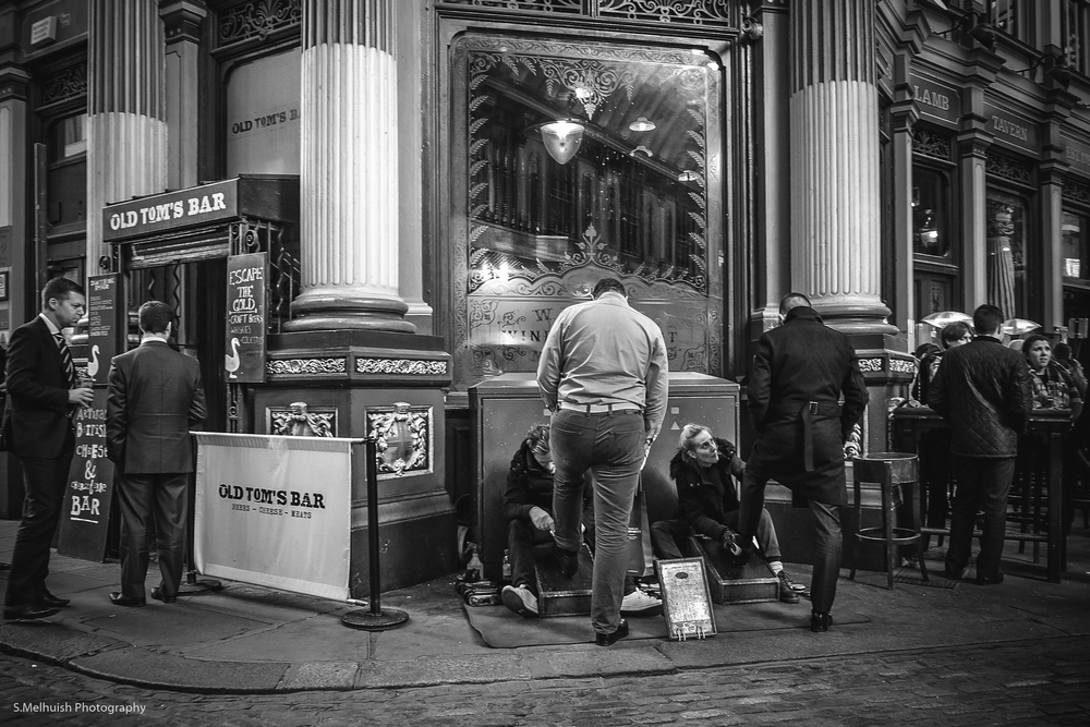 Polished in Leadenhall Market