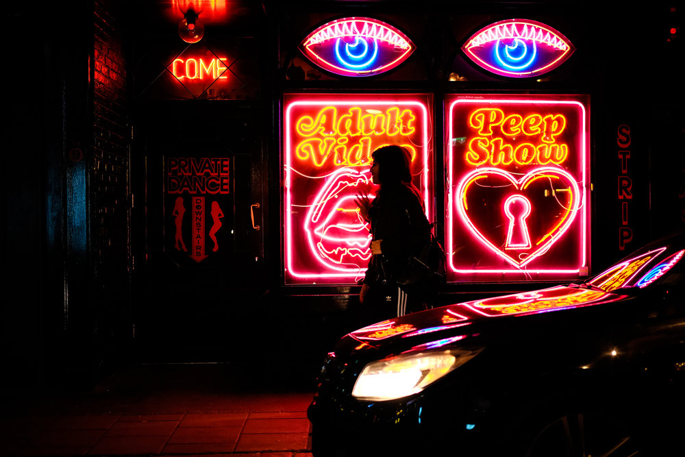 The iconic Bodega Negra on Old Compton Street