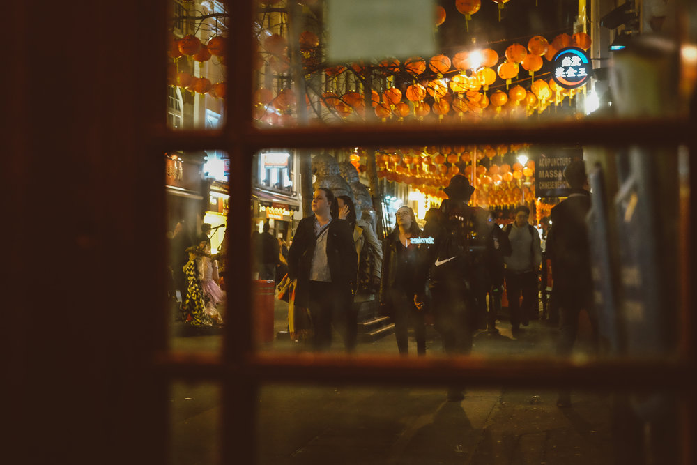 A glimpse from Gerrard Street