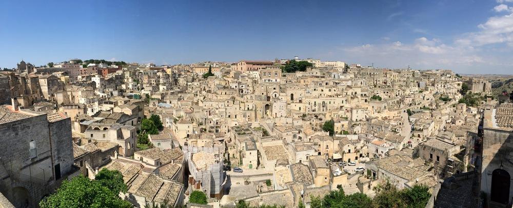 Matera - Sassi district of barisano