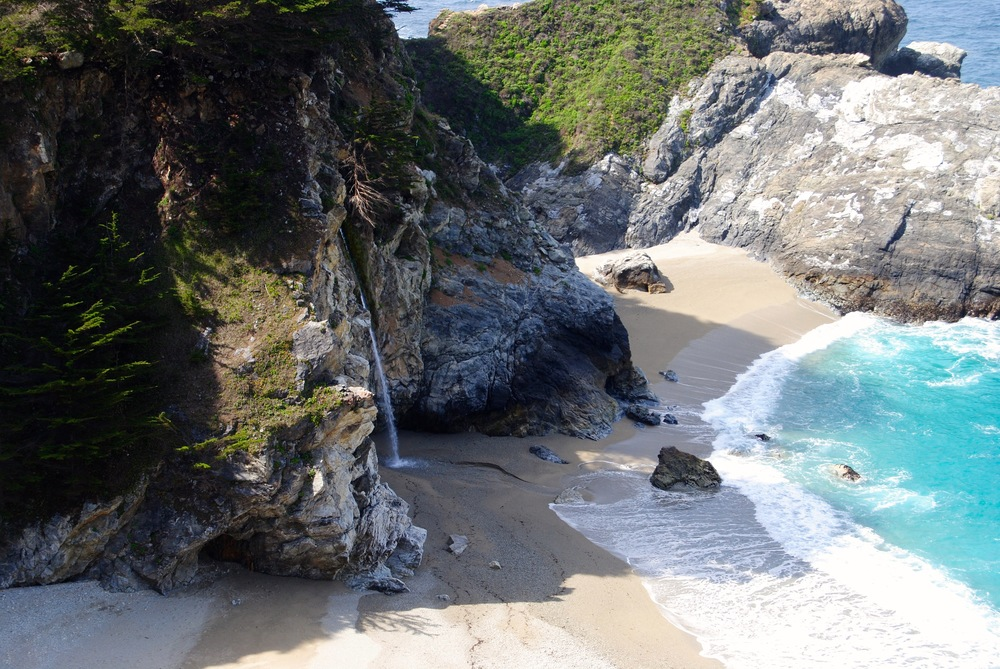 Big Sur - McWay Falls (right off Highway 1)