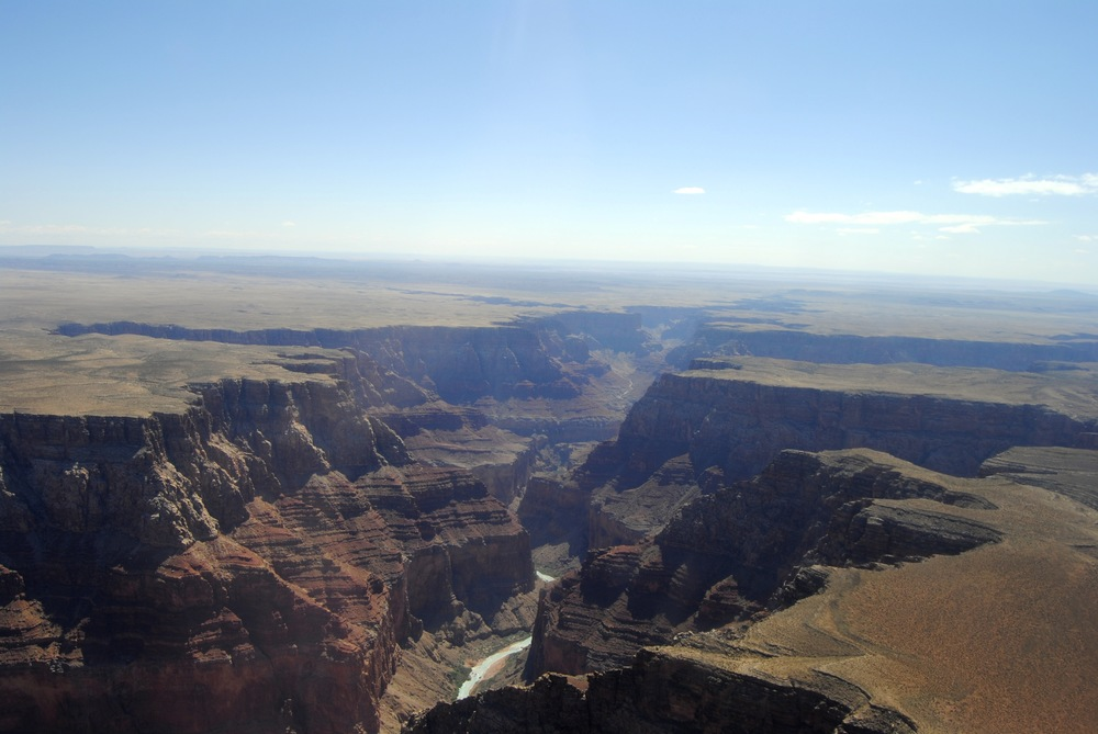 Grand Canyon - View from our Helicopter Flight with Papillon