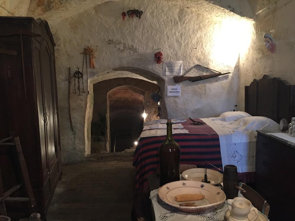 MAtera -Casa Grotta di Vico Solitario