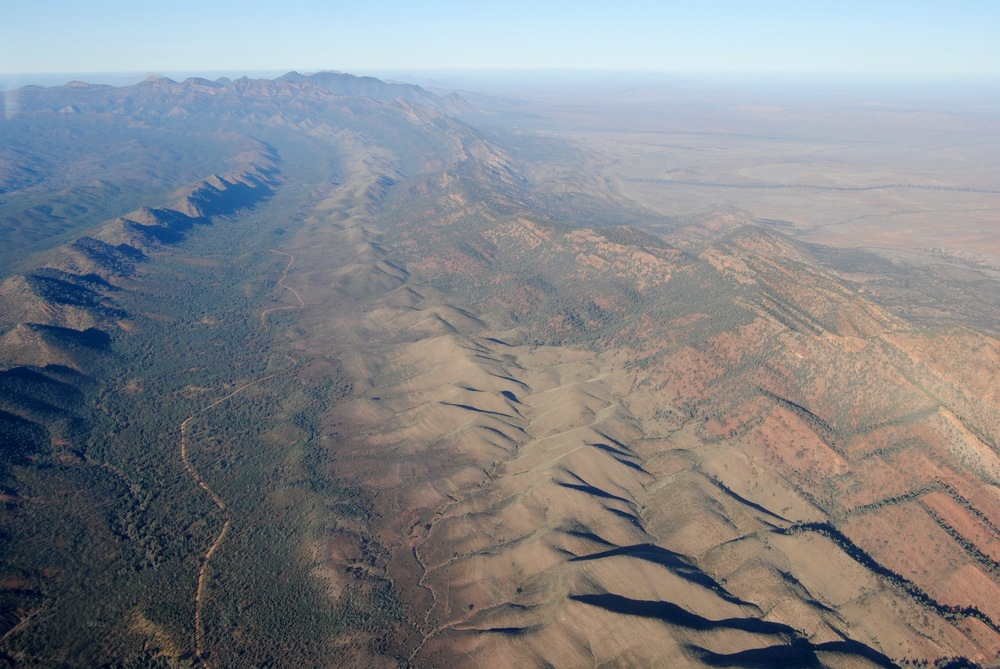 Scenic Flight Over the Flinders Ranges - Heysen Ranges