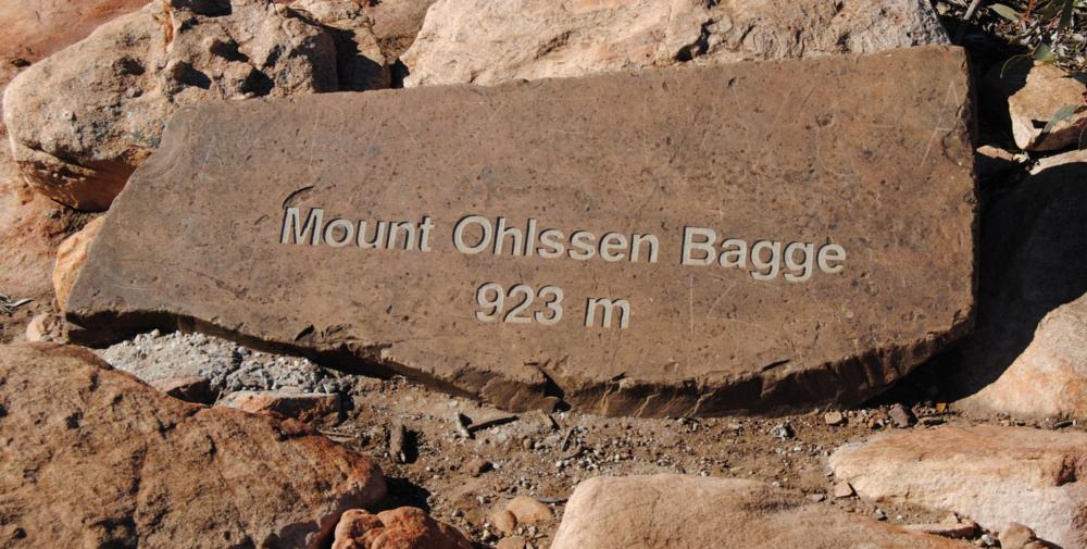 Mt Ohlssen Bagge Summit