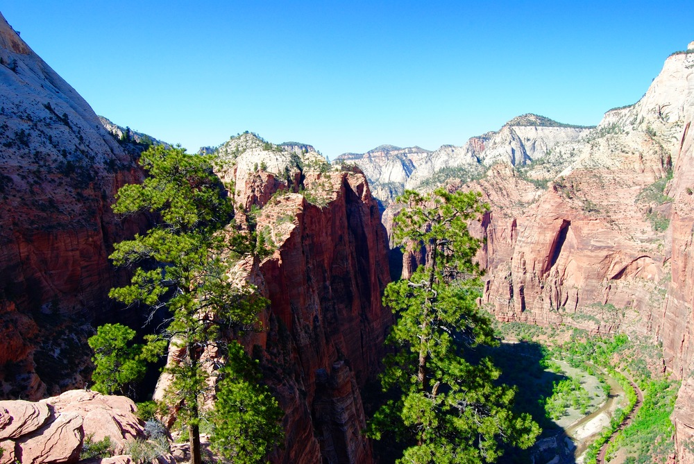 Zion National Park - View from Angel's Landing