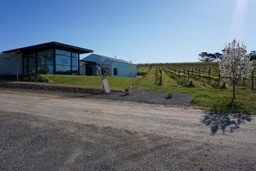 Bekkers Wine tasting room