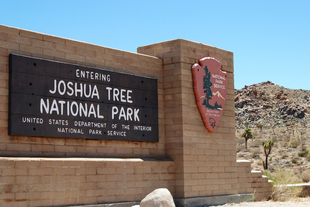 Entrance to Joshua Tree