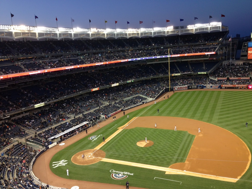 NY Yankees at Yankee Stadium