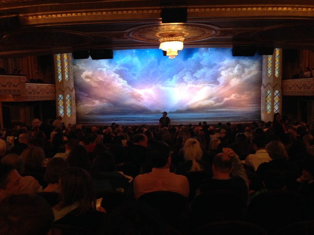 our standing spots, Before the Book of Mormon