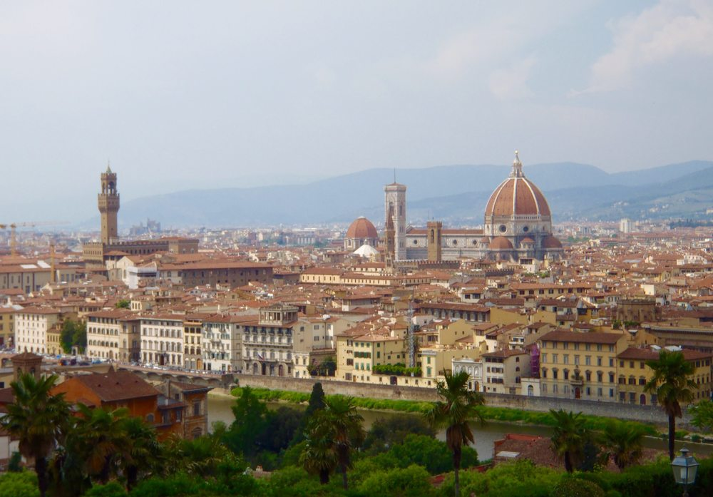 Florence - The view from Piazza Michelangelo