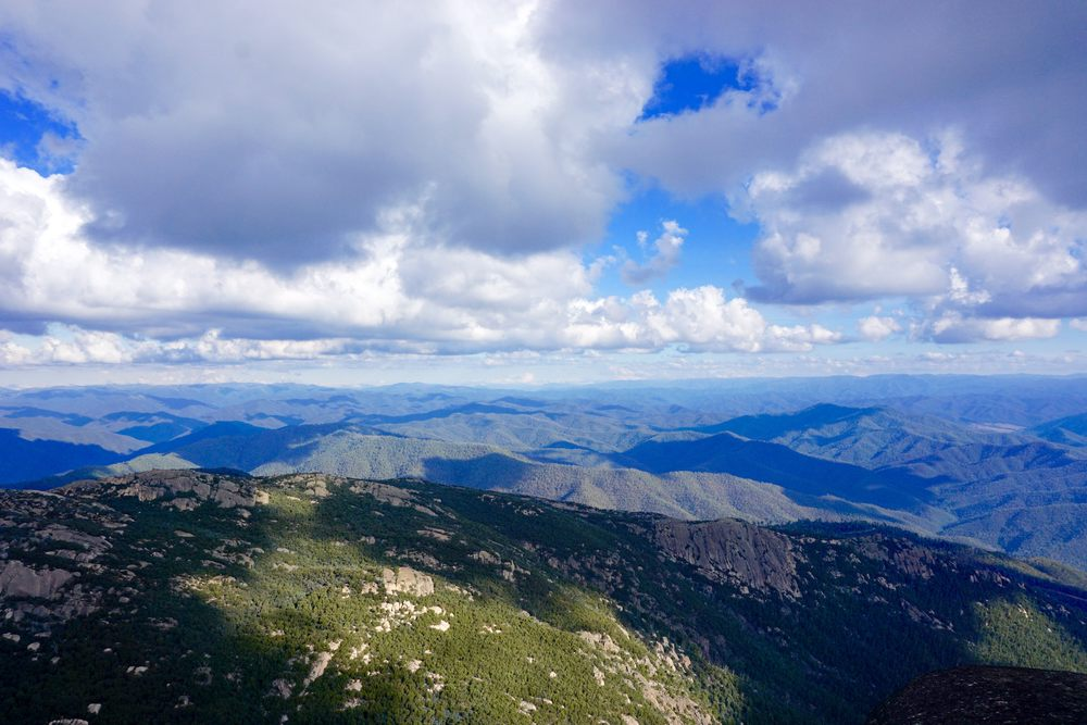The View from the top of the Horn the tallest peak in the Mt Buffalo National Park