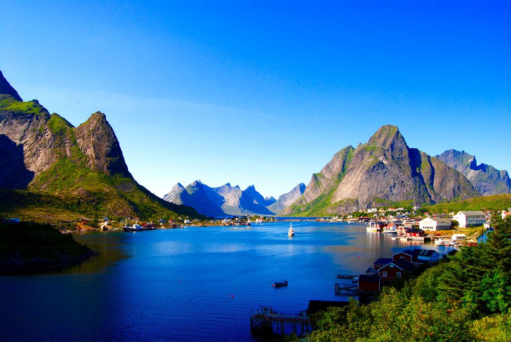 The perfect postcard town of Reine