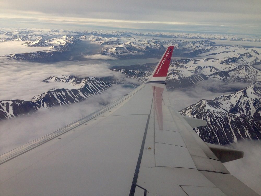 Fun Fact #11-12: Flying Over Svalbard