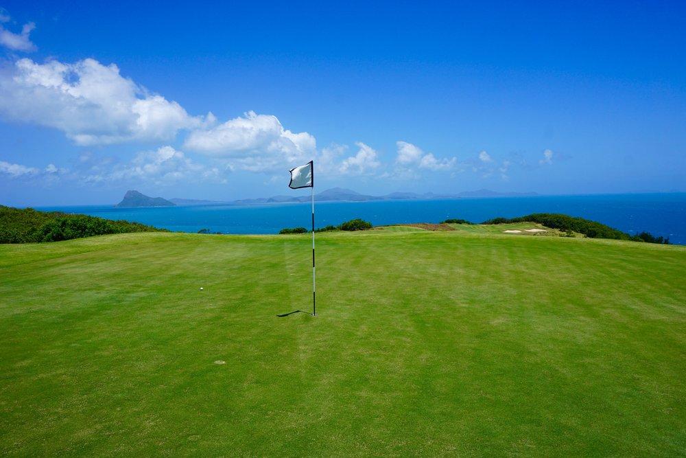 Hamilton Island - Golf - Dent Island