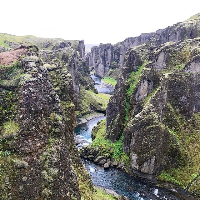 The amazing #fjadrargljufur canyon! Would have been a walk in the park for @hiking4two 🇮🇸🇮🇸🇮🇸🇮🇸🇮🇸