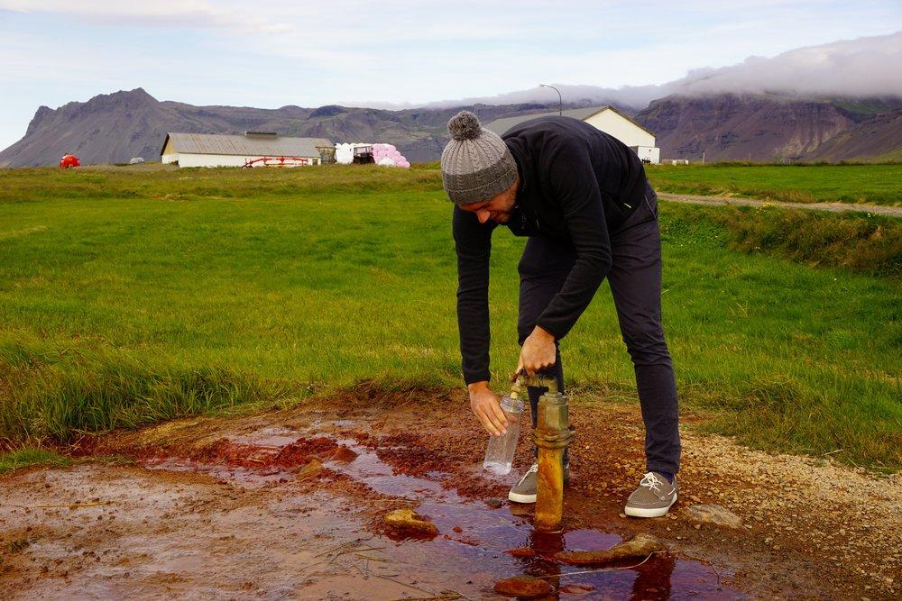Olkelda Mineral Spring Iceland
