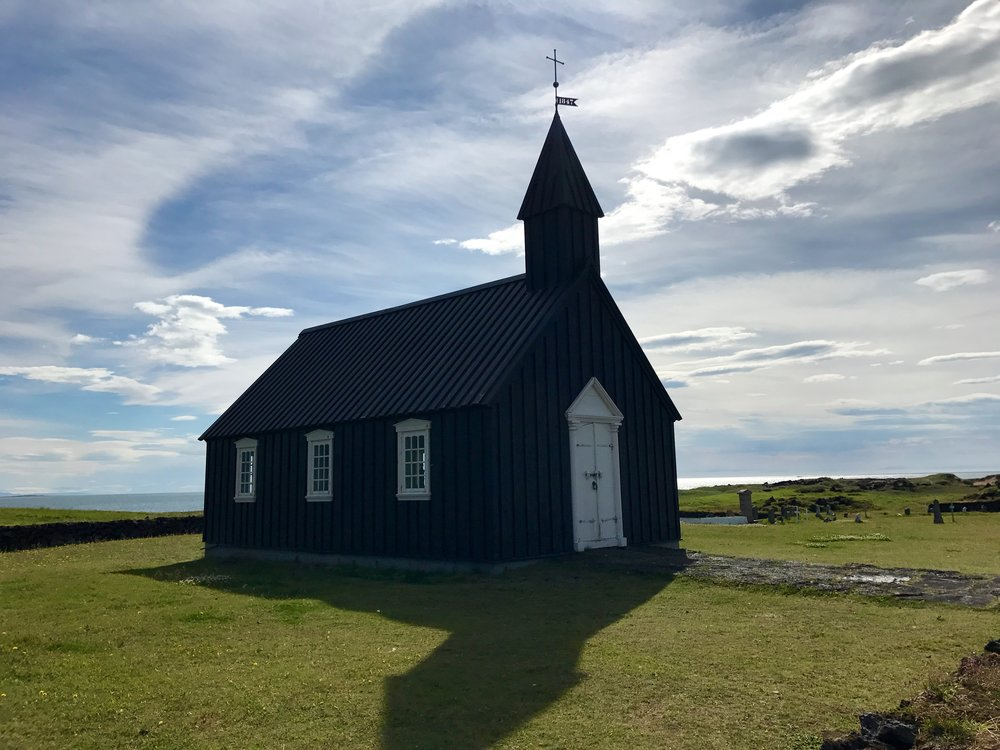 Búðakirkja Church in Budir