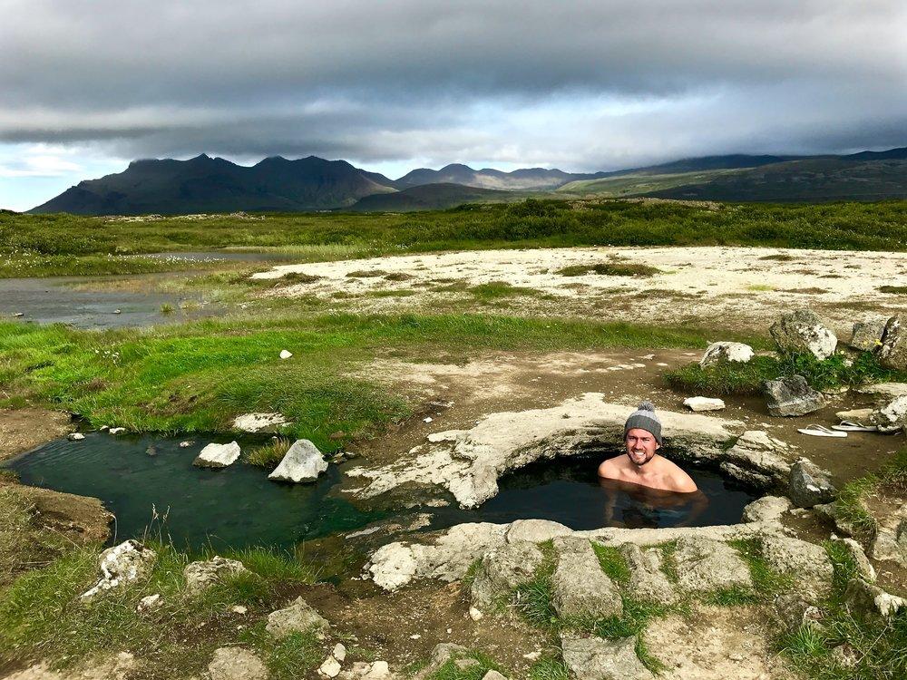 Hot Pot - Landbroatalaug - Day 2 of 10 Days in Iceland