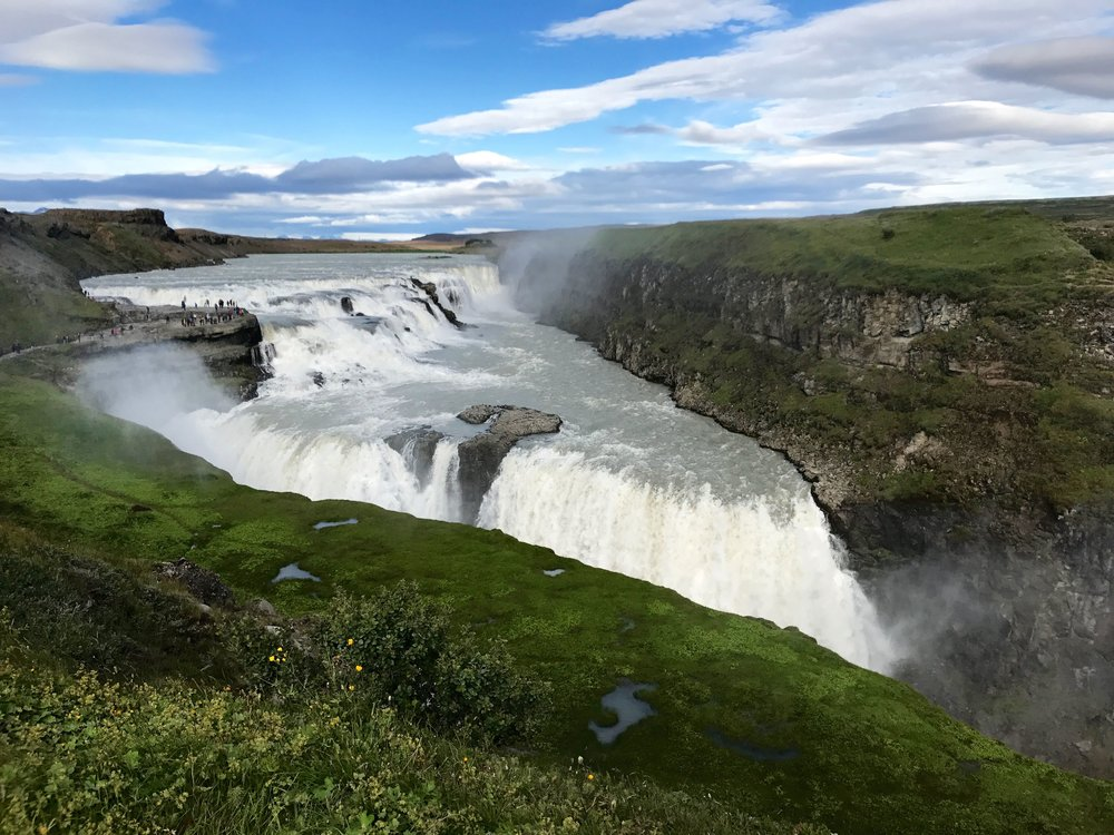 Gullfoss Waterfall -  Day 3 of 10 Days in Iceland