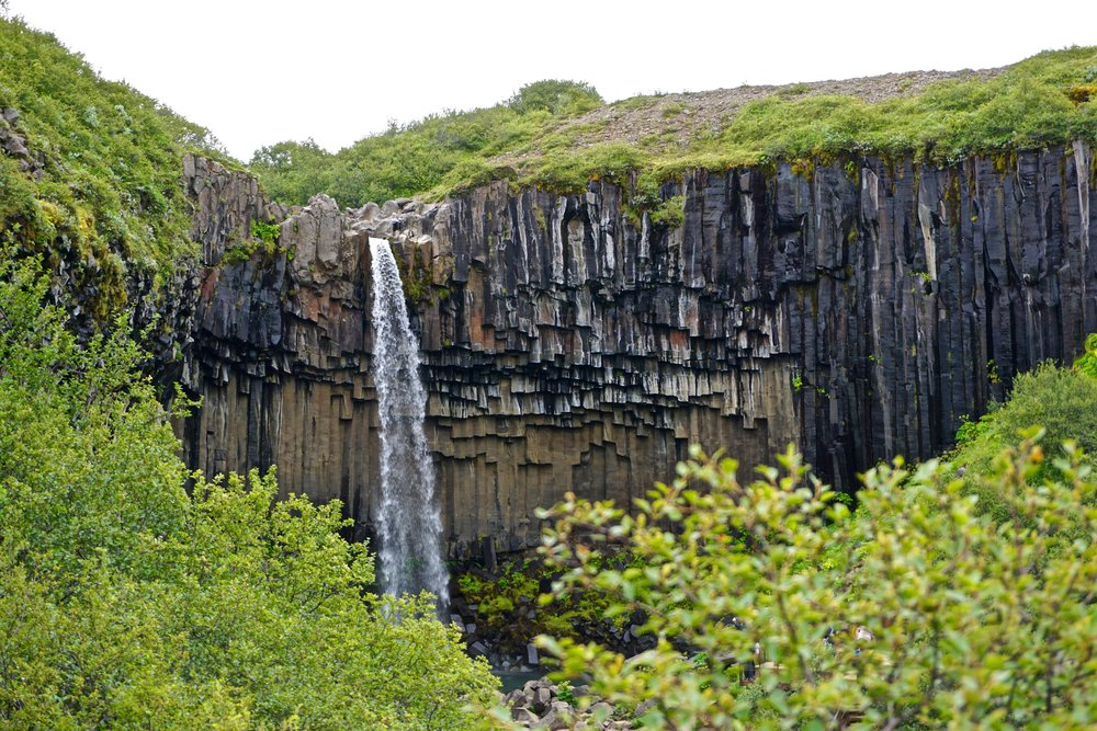 Svartifoss Waterfall - Day 2 of 10 Days in Iceland