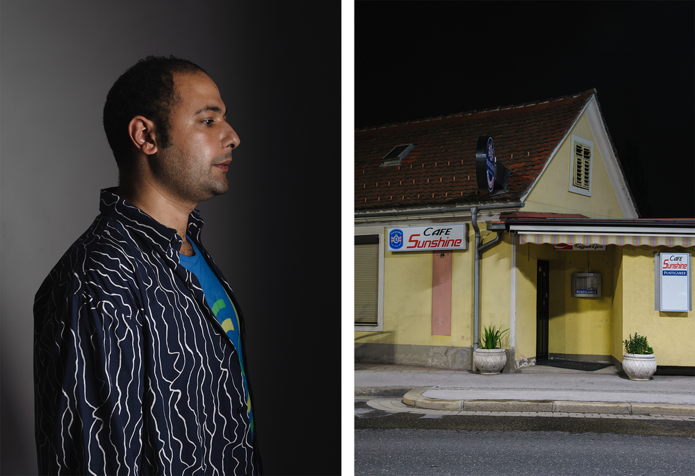 Sahid, 2012  Once teacher in Egypt, now flower seller by night in Europe.