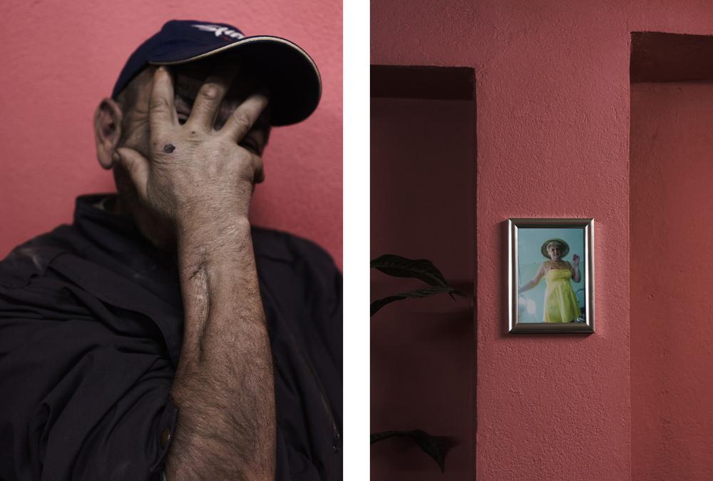 Unknown man, 2014  Encounter in a bar in Mostar.