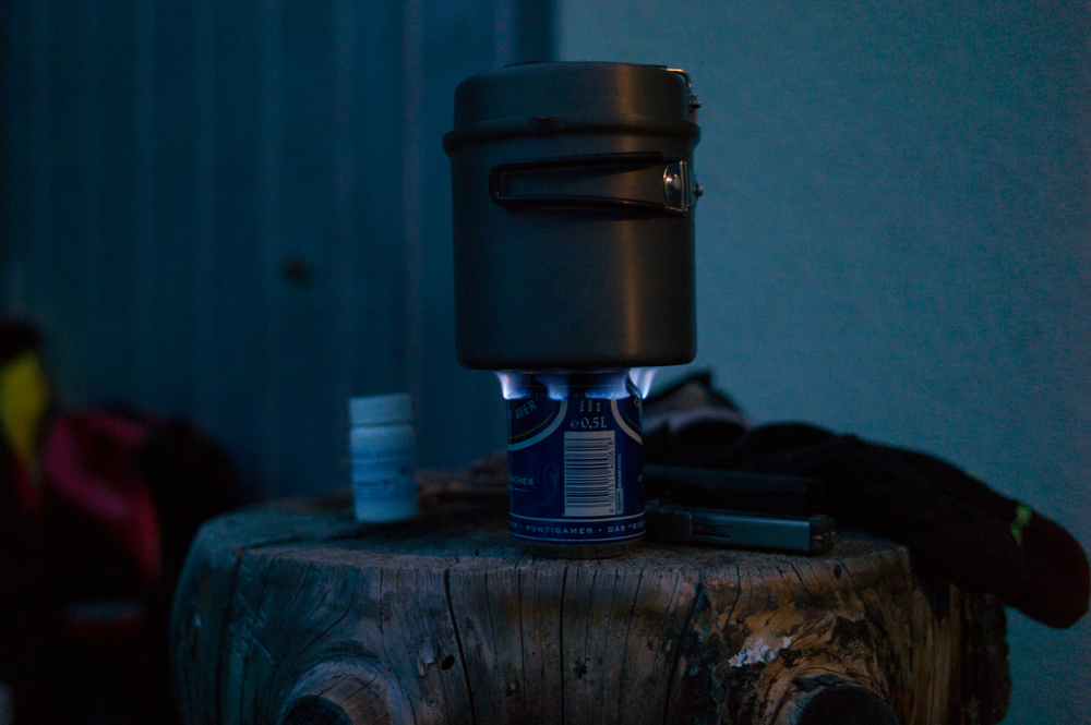 The Stove made out of a beer can (by  Tom Allen )