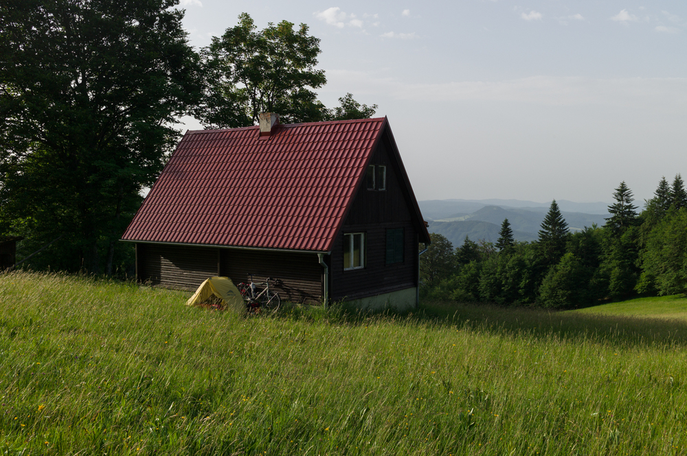 In the mountains close to Vricko, June 16