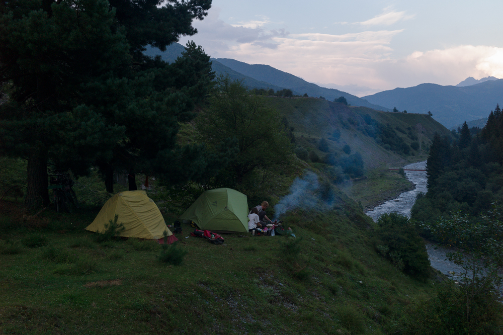 Close to Leusheri, August 5