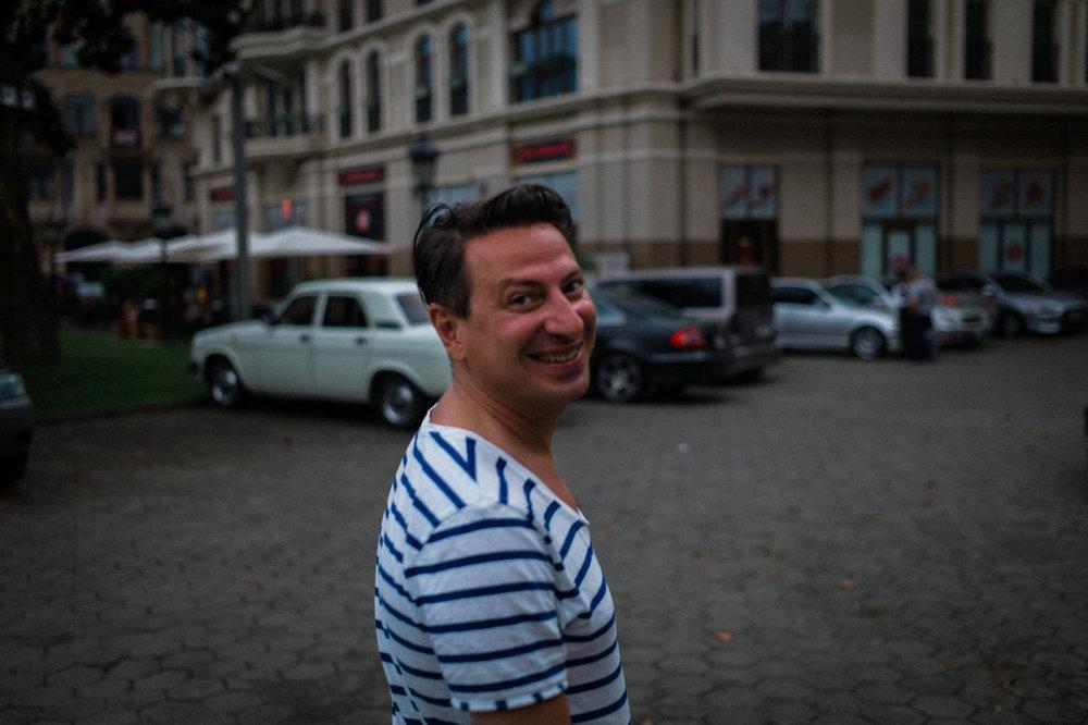 Director Giorgi Kitsmarishvili, Batumi