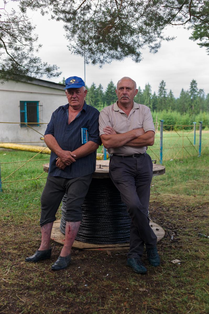 Vasil (rechts) und ein Freund