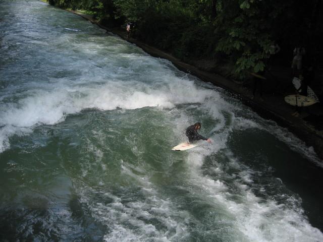 Munich - River Surfing