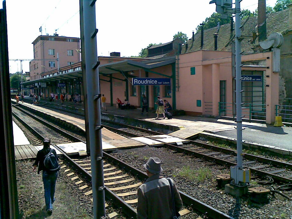 Broken down train - somewhere in eastern Eurpoe